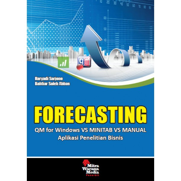 Forecasting Aplikasi Penelitian Bisnis QM for Windows Vs Minitab Vs Manual
